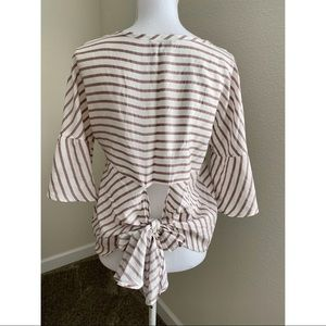 Express Tie Back Top
